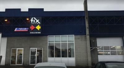 Fix Auto Repentigny bâtisse carrosserie atelier