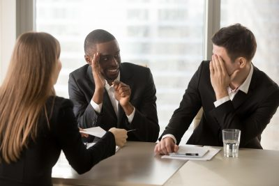 Erreur en entrevue